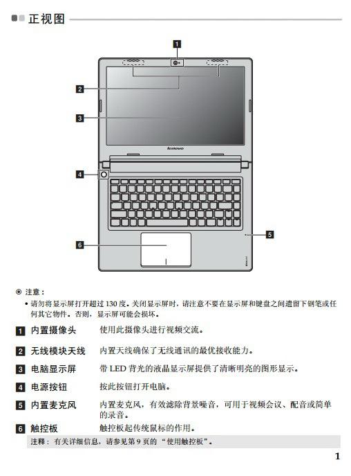 联想Lenovo IdeaPad S415笔记本电脑说明书