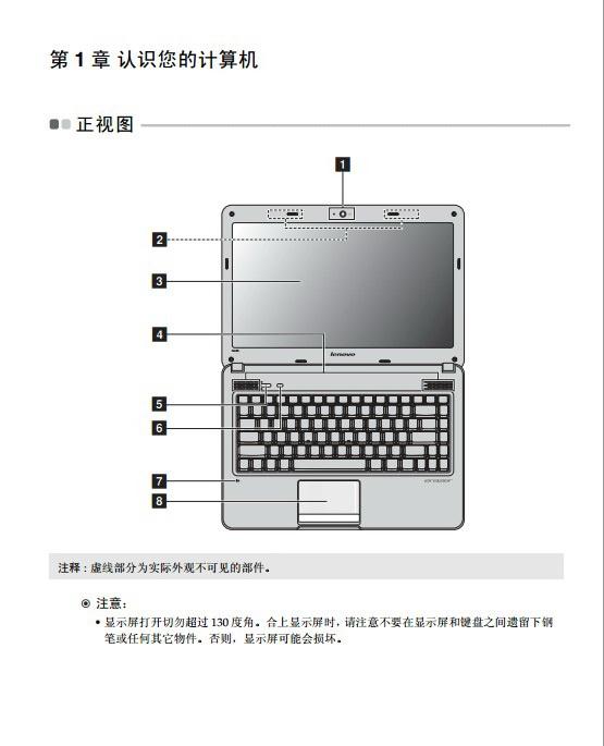 联想Erazer N485笔记本电脑使用说明书
