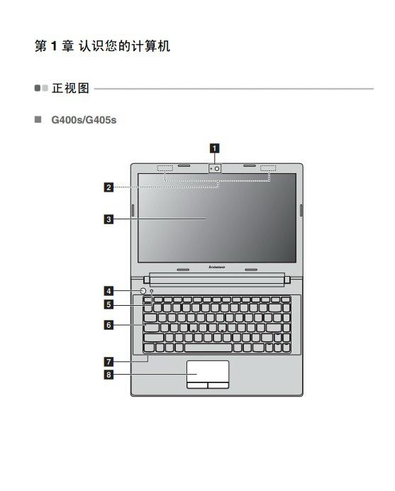 联想G400s Touch笔记本电脑使用说明书