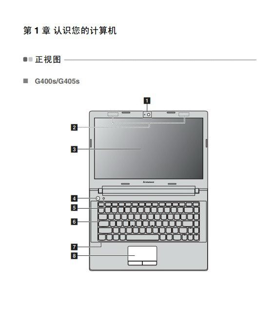 联想G400s笔记本电脑使用说明书