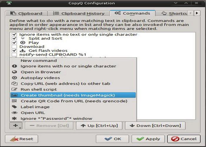 CopyQ For Linux