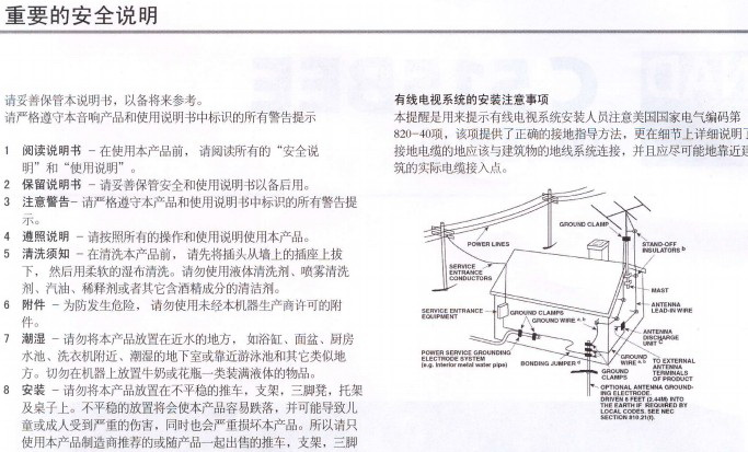 NAD_C515BEE CD播放机使用说明书