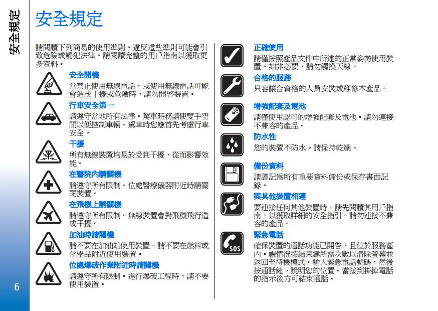Nokia E61-1手机用户手册