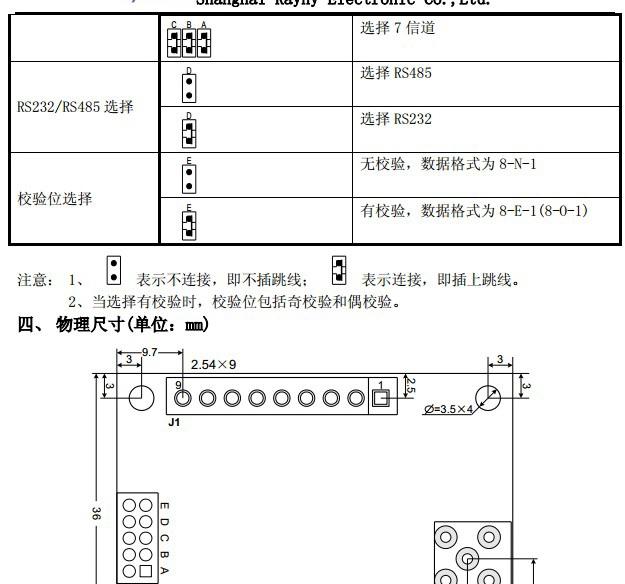 RN650无线通信模块使用说明书