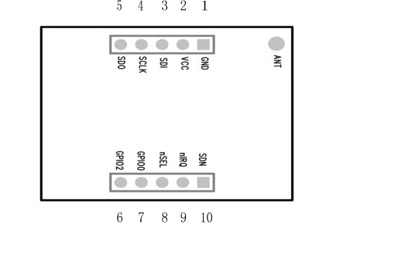 MD-SI4432-PHY无线数传模块说明书