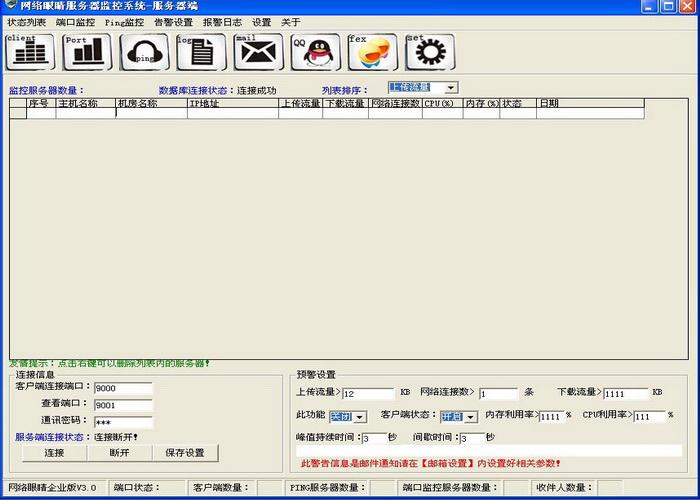 网络眼睛服务器监控软件企业版客户端-[华商团定制版]