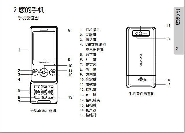 OPPO A203手机使用说明书
