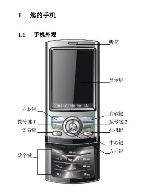高科手机GK288型使用说明书