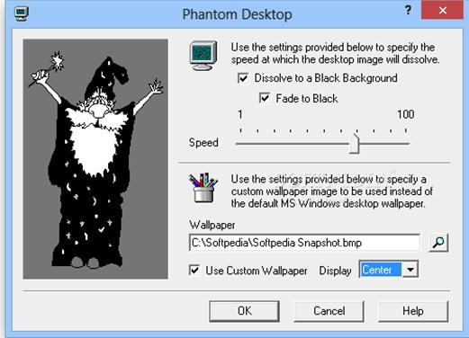 Phantom Desktop Screen Saver