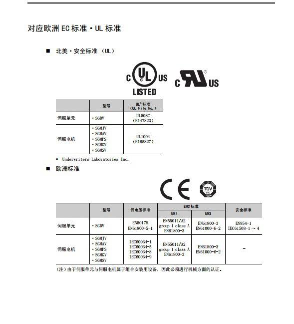 安川SGDV-1R9D01A伺服驱动器用户手册