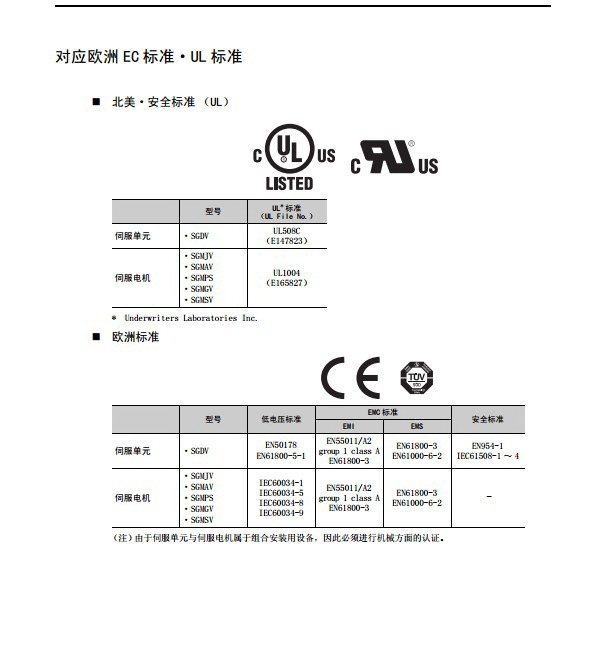 安川SGDV-2R8A01A伺服驱动器用户手册