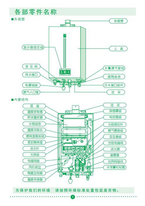 樱花jsq24-a热水器使用说明书