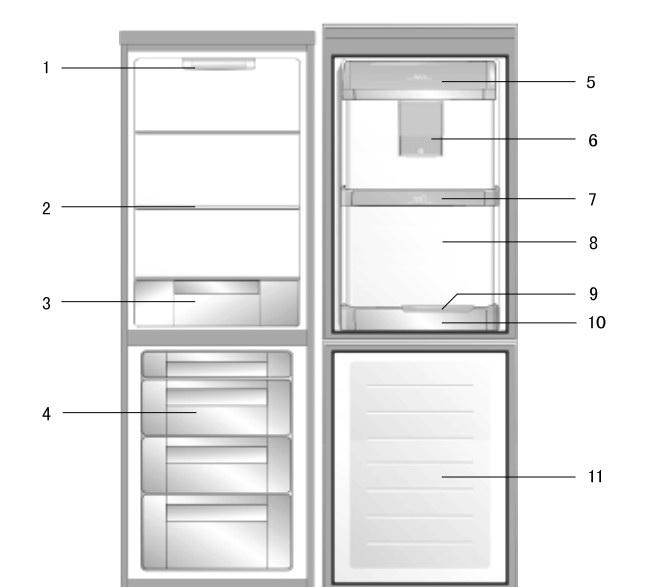 伊莱克斯BCD-212EN型冰箱使用说明书