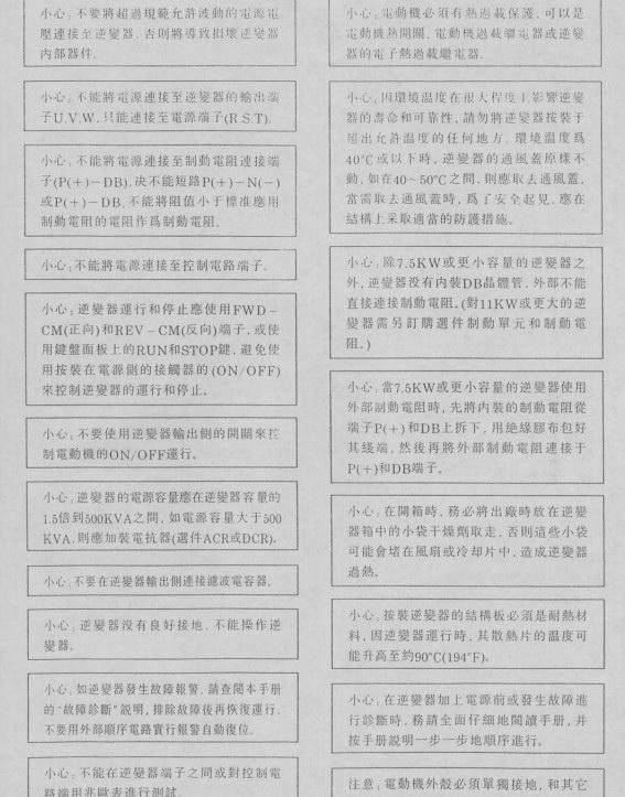 富士FRN22G9S-4变频器说明书