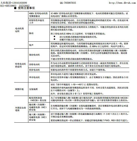 富士FRN30LM1S-4C变频器说明书