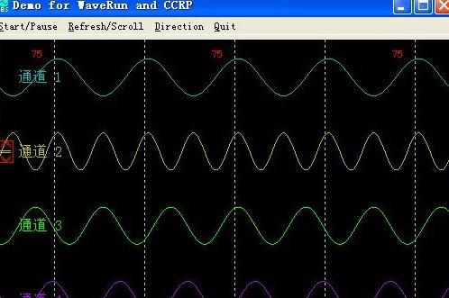 动态波形监视控件(WaveRun.ocx)
