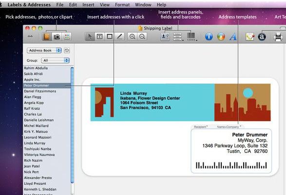 LabelsandAddresses For Mac