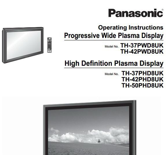 松下TH-50PWD8UK等离子显示器使用手册