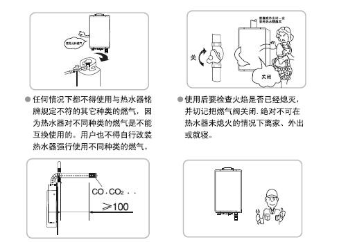 海尔热水器JSQ16/20/22-FFSB(Y/T/R)型使用说明书