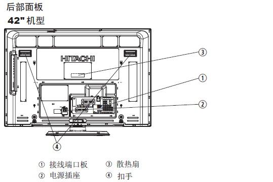 日立液晶彩色电视机UT32-MH08CB/CR/CW/CA型使用说明书