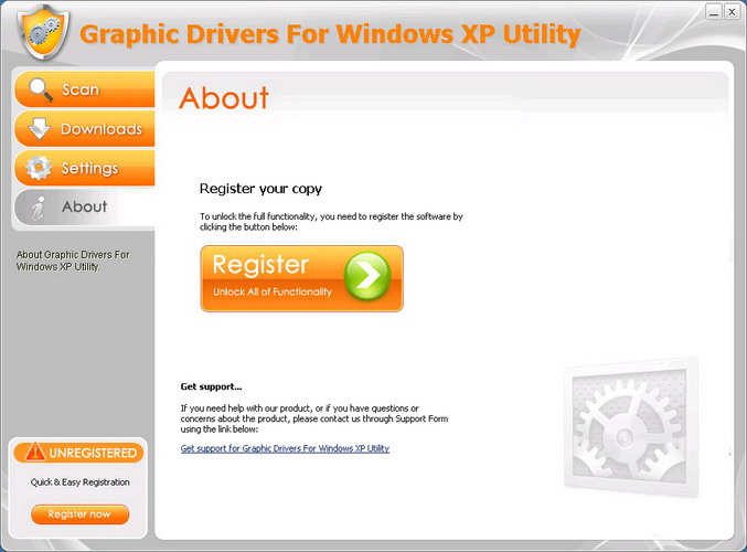 Graphic Drivers For Windows XP Utility