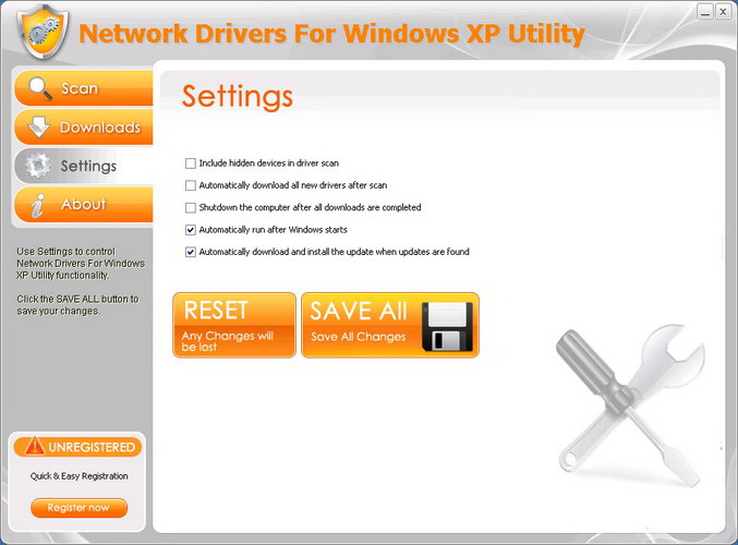 Network Drivers For Windows XP Utility