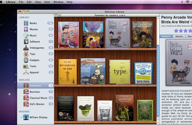 Delicious Library 2 For Mac