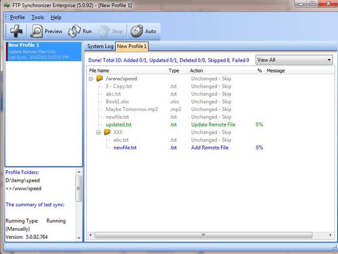 FTP Synchronizer