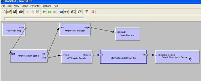 Mainmedia Audio Pitch Directshow Filter