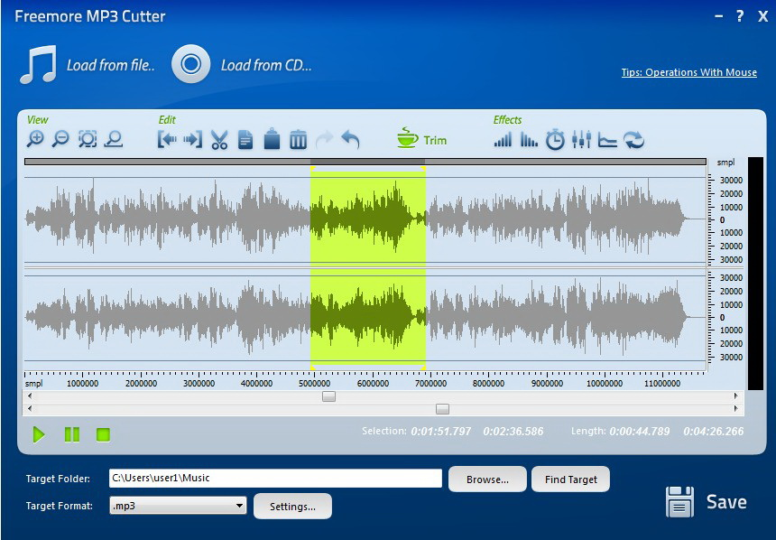 Freemore MP3 Cutter