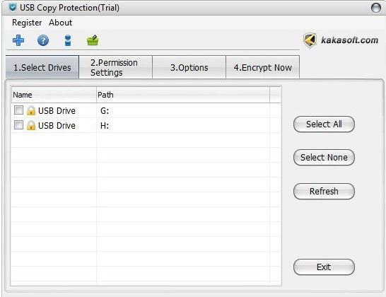 USB Copy Protection