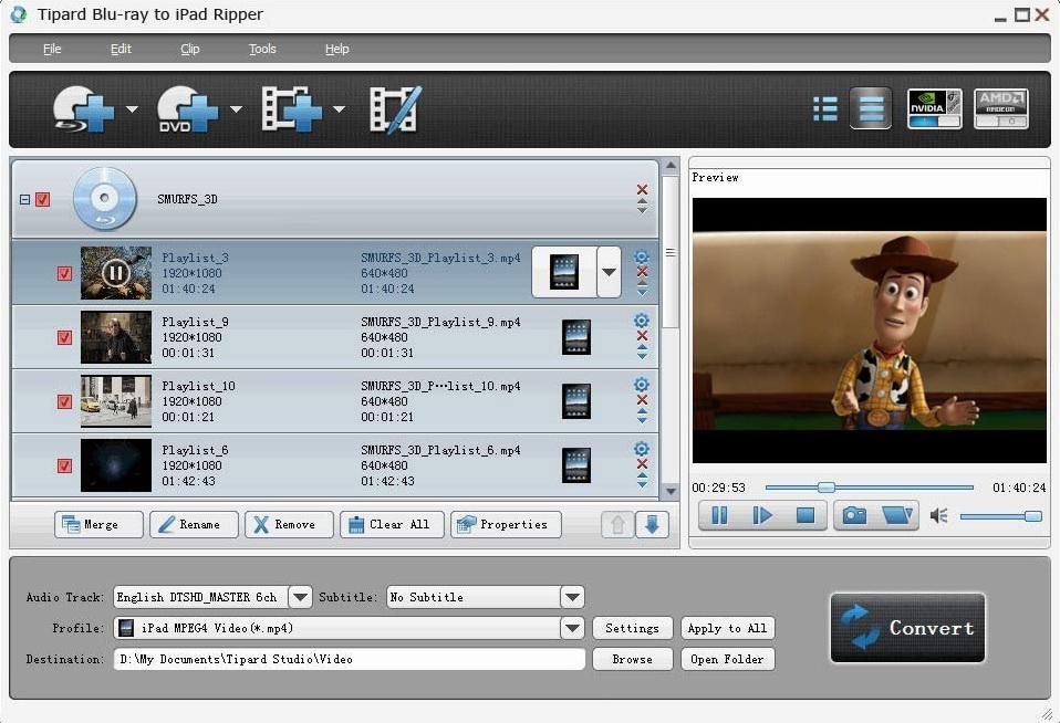 Tipard Blu-ray to iPad Ripper
