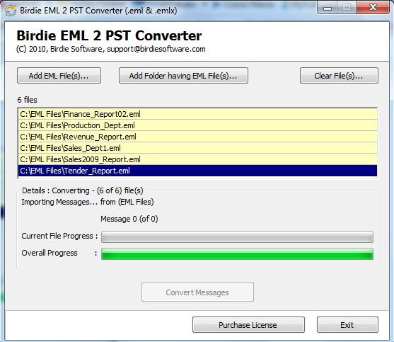 Windows EML File Converter