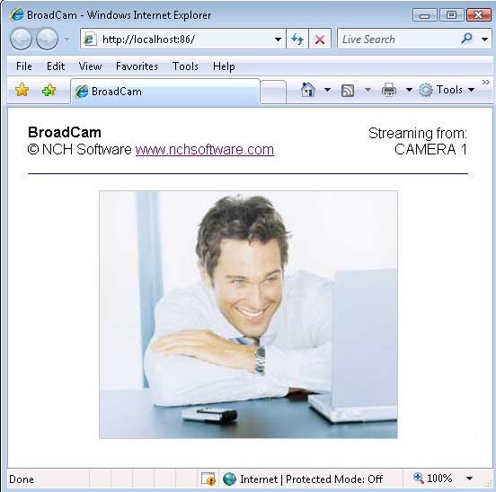 BroadCam Pro Streaming Video Server