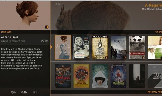 Plex Home Theater For widows