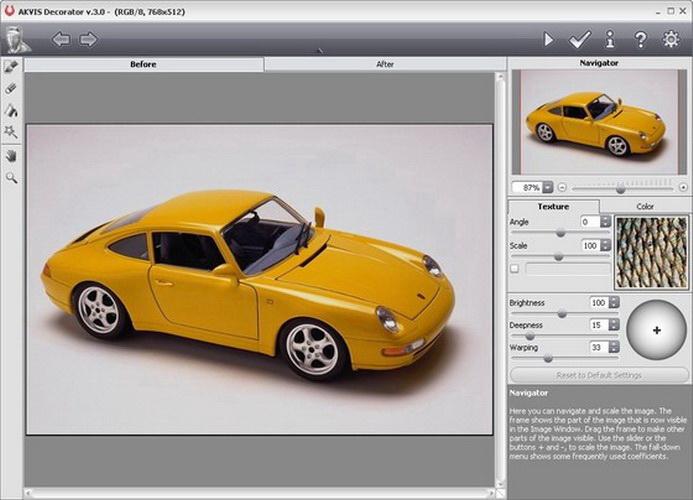 AKVIS Decorator Plugin For Mac