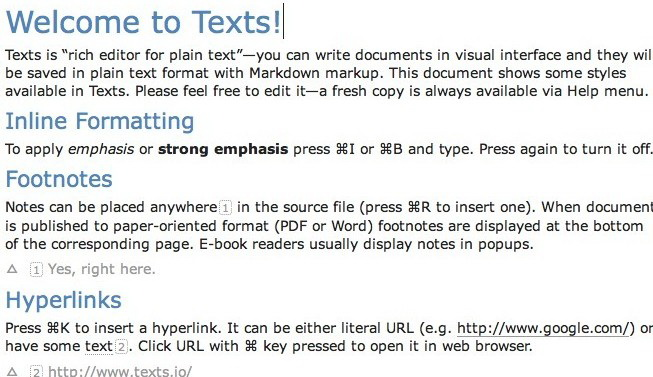Texts For Mac
