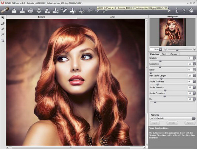 AKVIS OilPaint Plugin For Mac