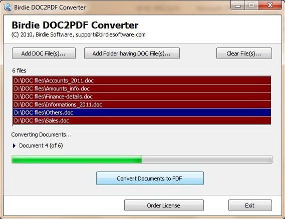Save DOC to PDF File