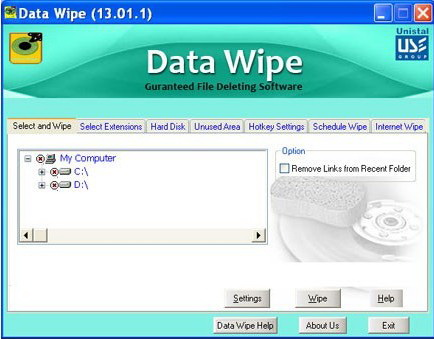 Data Wipe Software