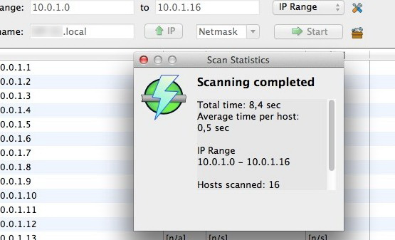 Angry IP Scanner For Mac