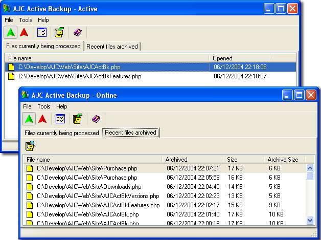 AJC Active Backup
