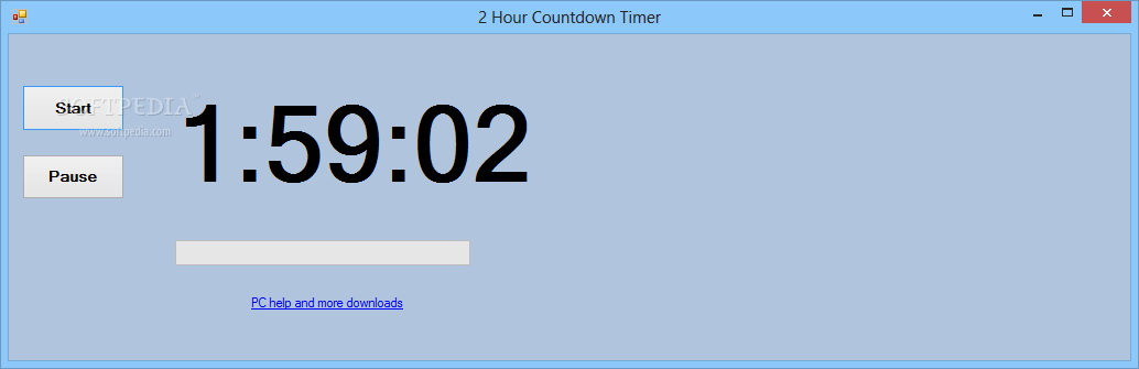 2 Hour Countdown Timer