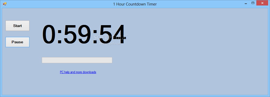 1 Hour Countdown Timer