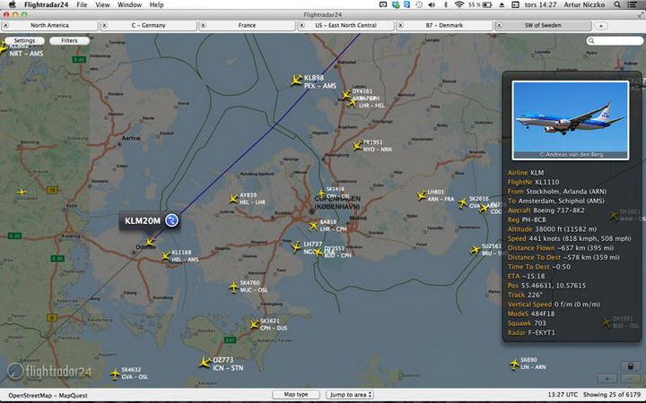 Flightradar24 for MAC