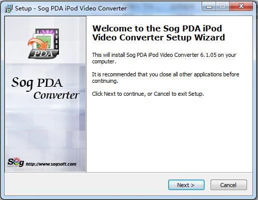 Sog PDA iPod converter