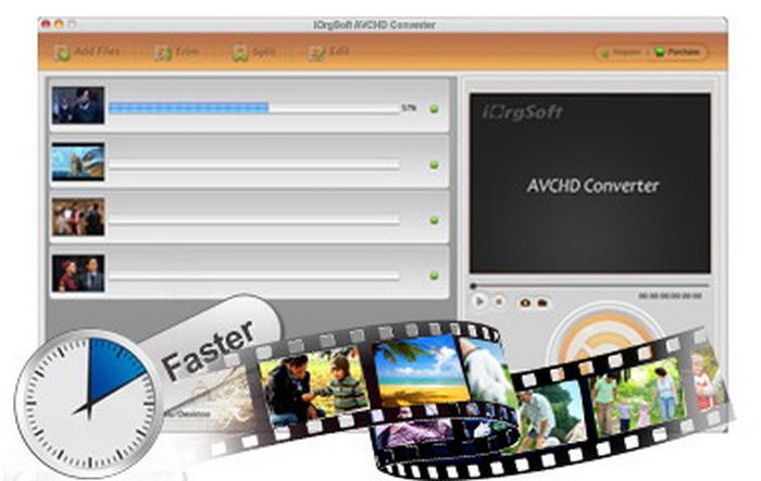 iOrgsoft AVCHD Video Converter For Mac