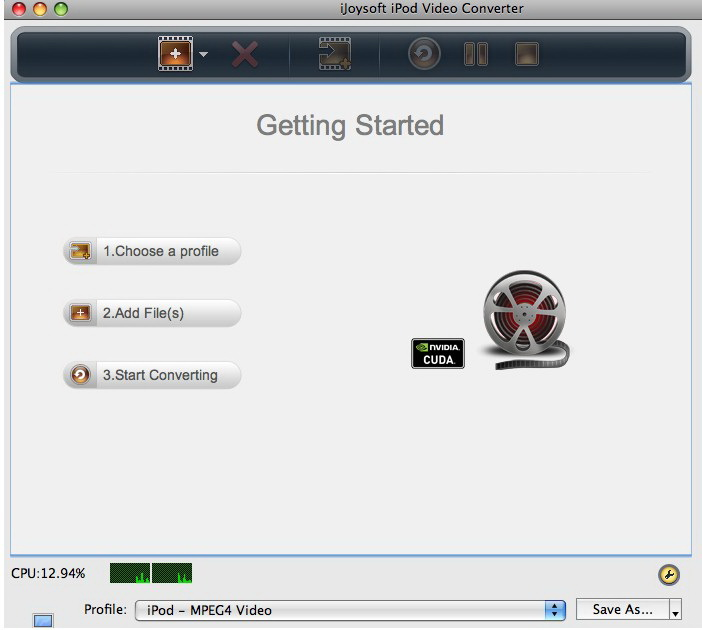 iJoysoft iPod Video Converter for Mac