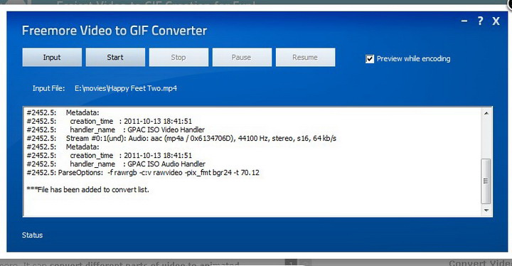 Freemore Video to GIF Converter