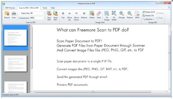 Freemore Scan to PDF